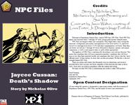 RPG Item: Jaycee Cussan: Death's Shadow