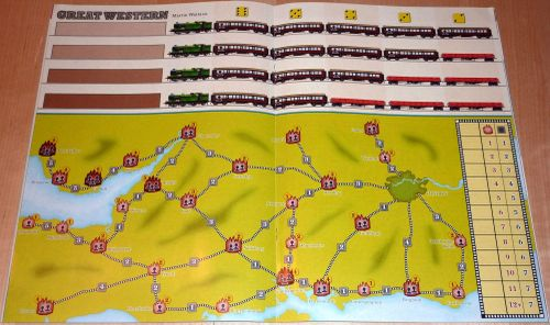 Board Game: Great Western