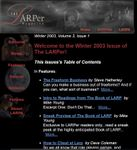 Issue: The LARPer (Volume 3, Issue 1 - Winter 2003)