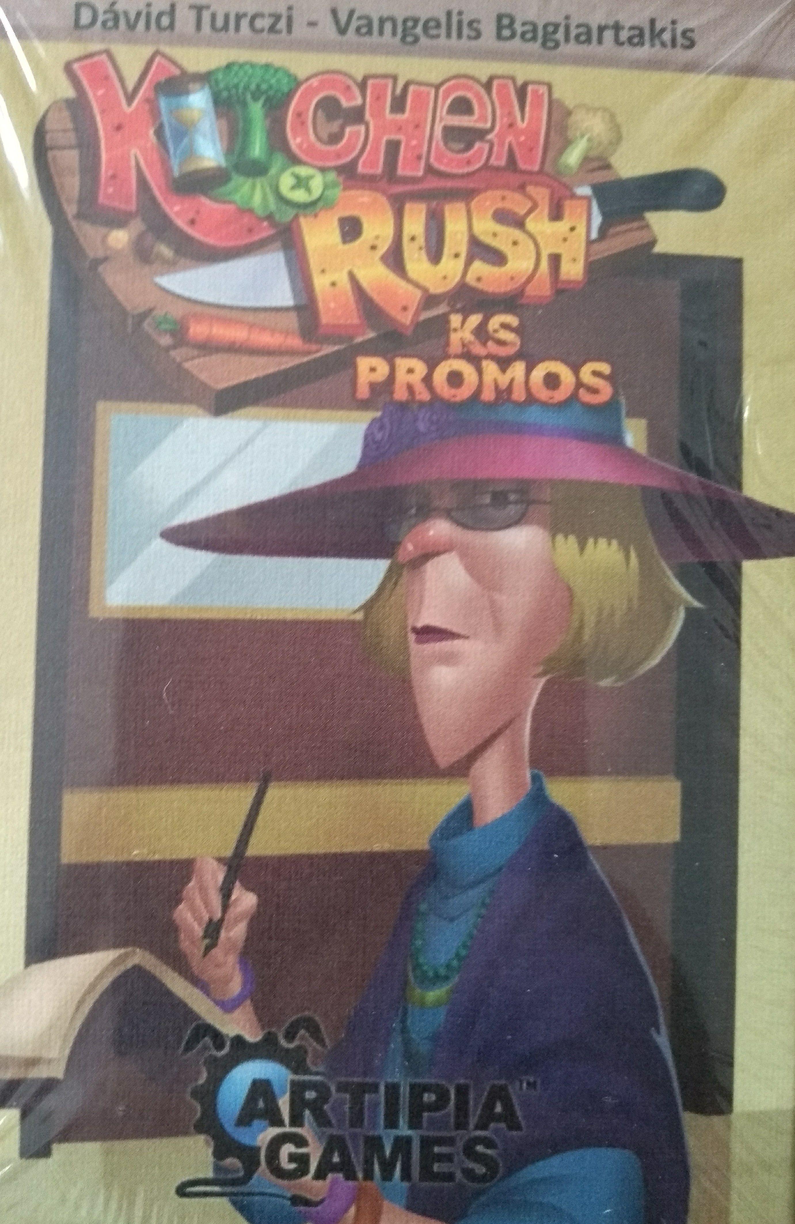 Kitchen Rush: KS Promos