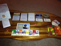 Board Game: Aether Captains: Pirates and Traders