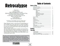 RPG Item: Retrocalypse