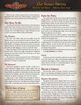 RPG Item: The Vasjan Heresy