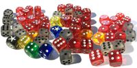 Board Game Accessory: Favor of the Pharaoh: Extra Dice