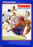 Video Game: Tennis (1980 / Intellivision)