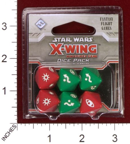 Board Game Accessory: Star Wars: X-Wing Miniatures Game – Dice Pack
