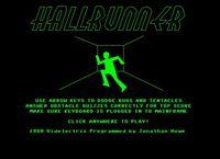 Video Game: Hallrunner