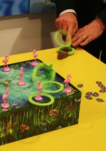 Board Game: Ring-O Flamingo