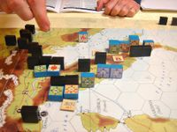 The Allies cut the German supply lines into Southern Italy