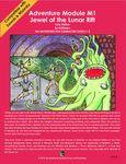 RPG Item: M1: Jewel of the Lunar Rift Folio Edition