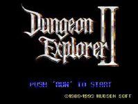 Video Game: Dungeon Explorer II