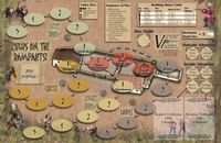 Board Game: Zulus on the Ramparts!: The Battle of Rorke's Drift – Second Edition