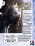 RPG Item: The Unliving Light