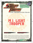 RPG Item: M. I. Light Trooper