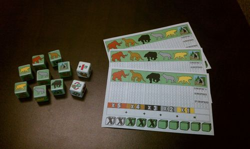 Board Game: Clovis: The Dice Game