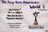 Video Game: The Fancy Pants Adventures: World 1