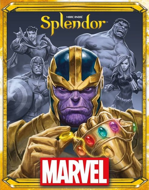 Splendor Marvel | Board Game | BoardGameGeek