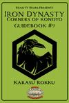 RPG Item: Iron Dynasty Guidebook #9: Karasu Rokku