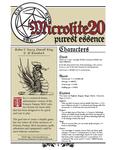 RPG Item: Microlite20: Purest Essence