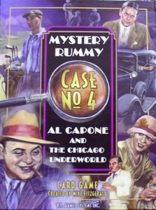 Mystery Rummy: Al Capone and the Chicago Underworld Cover Artwork