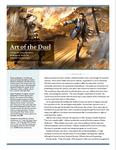 RPG Item: Art of the Duel