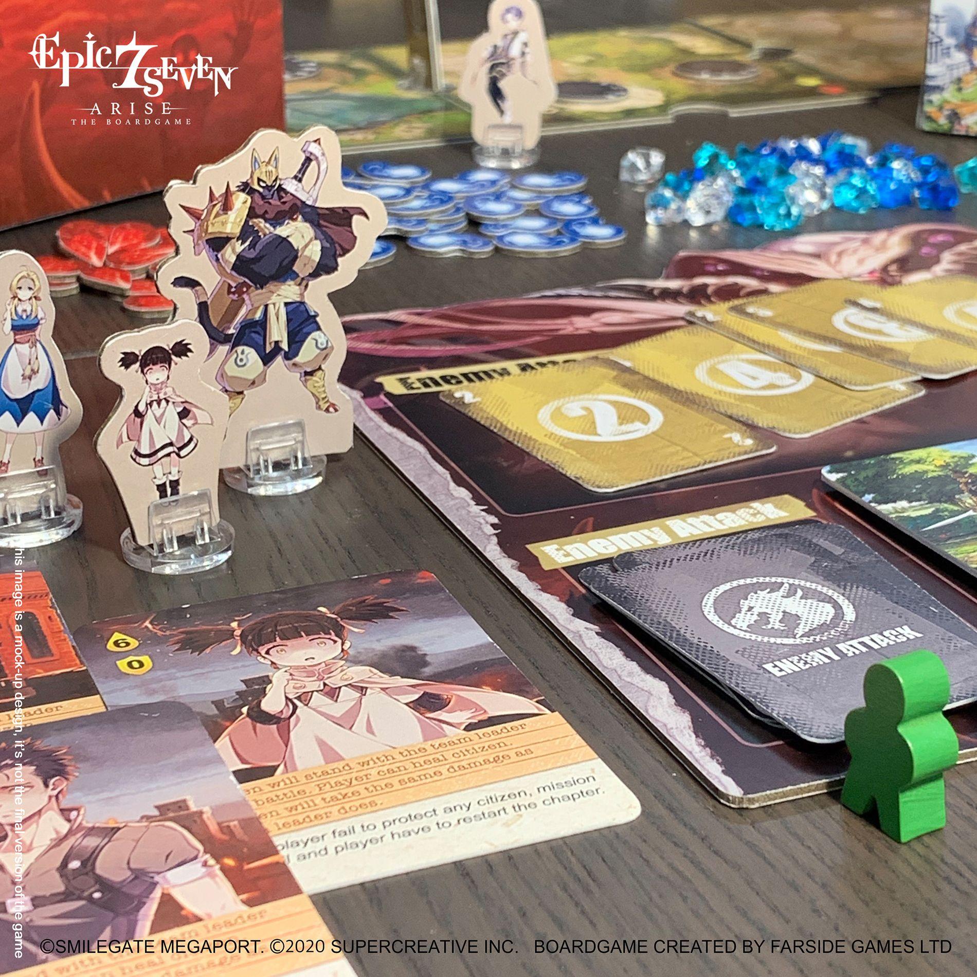 Epic Seven Arise The Boardgame Kickstarter 12 De Enero 2021 17 00 Cet
