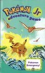 RPG Item: 1: Pokémon Jr. Adventure Game: Pokémon Emergency!