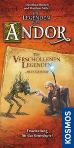 """Die Legenden von Andor: Die verschollenen Legenden """"Alte Geister"""" Cover Artwork"""