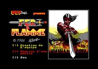 Video Game: Fer & Flamme