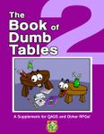 RPG Item: The Book of Dumb Tables 2