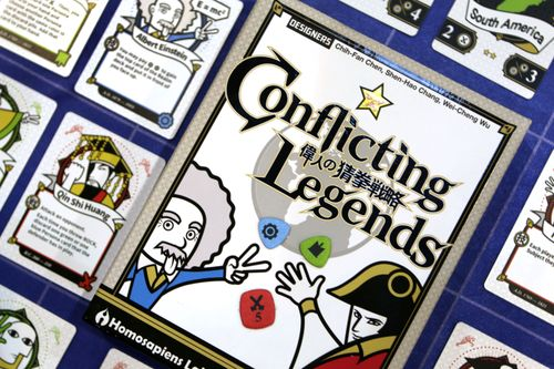 Board Game: Conflicting Legends
