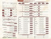 RPG Item: Pathfinder Playtest Character Sheet