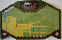 Board Game: Epoch Wargame Electronics #7: The Siege of Osaka in the Summer