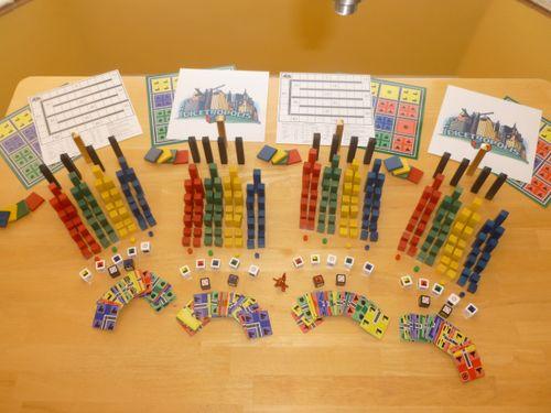 Board Game: Dicetropolis