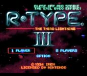 Video Game: R-Type III - The Third Lightning