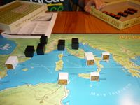 Julius Caesar for the colorblind, thanks to Grant at Columbia Games!