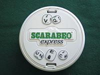 Board Game: Scarabeo Express