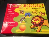 Board Game: Table Croquet