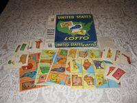 Board Game: United States Lotto