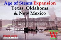 Board Game: Age of Steam Expansion: Texas, Oklahoma & New Mexico