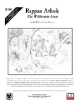 RPG Item: R1W: Rappan Athuk: The Wilderness Areas