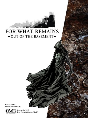 Board Game: For What Remains: Out of the Basement
