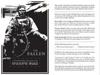 RPG Item: A Quarantine Supplement for Apocalypse World: The Fallen