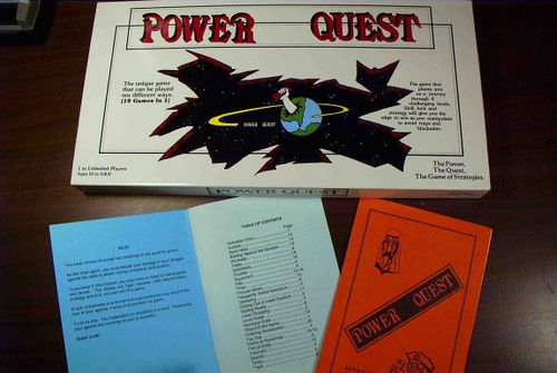 Board Game: Power Quest
