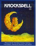 Issue: Knockspell (Issue 5 - January 2011)