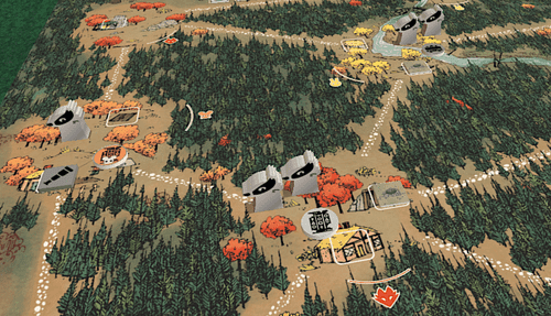 Badger faction in Tabletop Simulator. (Not final components.)