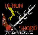Video Game: Demon Sword