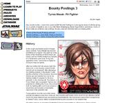 RPG Item: Bounty Postings 3: Tyrnia Masak: Pit Fighter