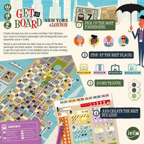 Board Game: Get on Board: New York & London