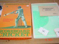 Board Game: Scoreboard Cricket